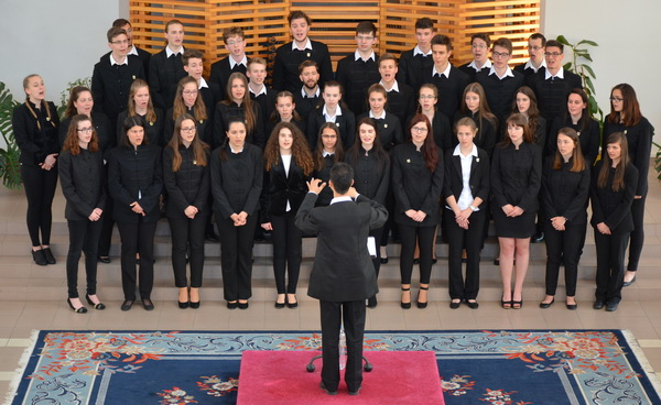 Performance of the Reformed School Choir of Pecs, Hungary